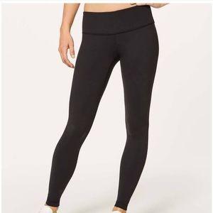 Lululemon Wunder Under black full length leggings